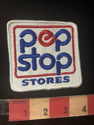 PEP STOP STORES Convenience Store Gas Station Advertising Patch 90RF