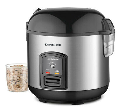 Kambrook - 5 Cup Capacity - Rice Master Rice Cooker & Steamer