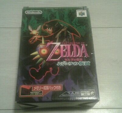 The Legend of Zelda Majora's Mask JAP Nintendo 64 en BE+expansion pack