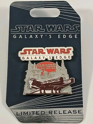 Disney World Parks Star Wars Galaxy's Edge Opening Day Limited Release Pin