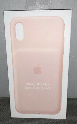 Apple Smart Battery Case for iPhone XS Max Pink Sand MVQQ2LL/A Brand New Sealed