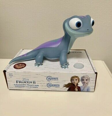 Disney Frozen 2 Bruni The Salamander Mood Color Changing Light Figure