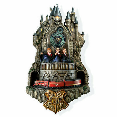 HARRY POTTER HOGWARTS CUCKOO CLOCK Hedwig's Theme MELODY 3D OVER  FOOT TALL!