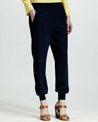 Authentic STELLA McCARTNEY Cuffed Harem Pants, Black, Retail $575