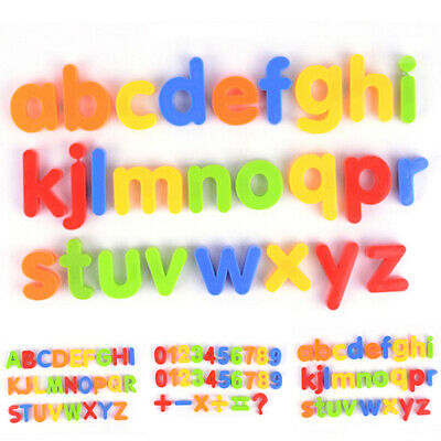 1PCS Magnetic Numbers Letters Alphabet Learning Toy Fridge Magnets Xmas Gift