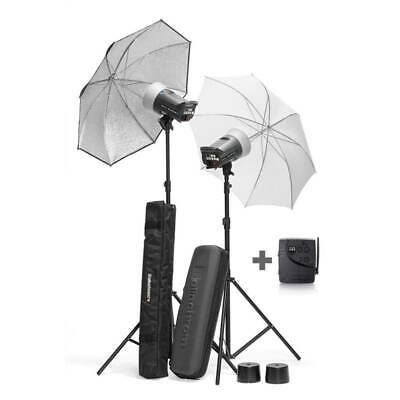 Studio lighting Kit | Elinchrom D-Lite RX 2   RX 4  Kit with Stands