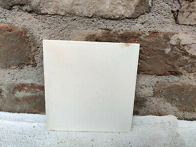 Vintage Architecture Furniture Tile Old White Shade Unused Tile Belgium 1930s