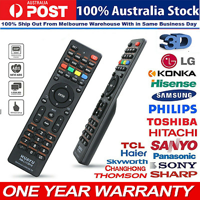 1Universal Remote Control Replacement for LG/Sony/TCL/Soniq/JVC Smart LED LCD TV