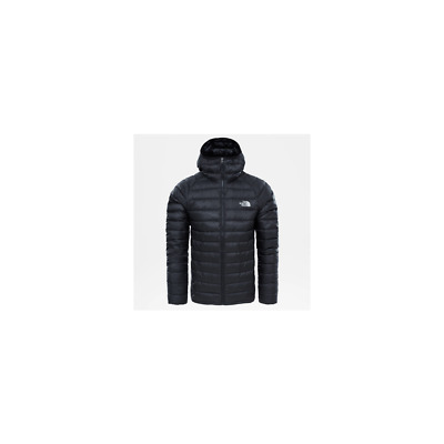 The North Face Trevail Hoodie Jacket Tnf Black down Winter Feather Goose Bumps
