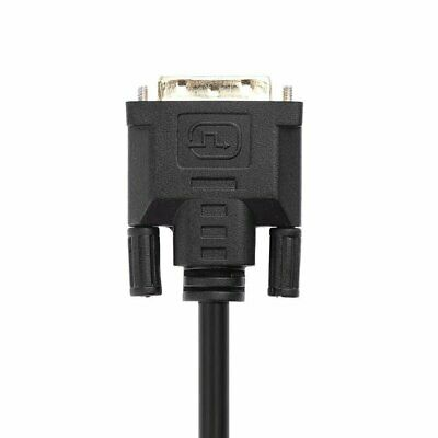1080p DVI-D 24+1 Pin Male to VGA 15Pin Female Active Cable Adapter Converter KW