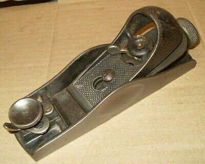 Vintage Stanley No. 60 1/2 Low Angle Block Plane - Made In England - As Photo's
