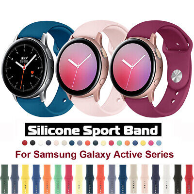 Silicone Sports Band Strap For Samsung Galaxy Watch 42mm Active 2 40/44mm Bands