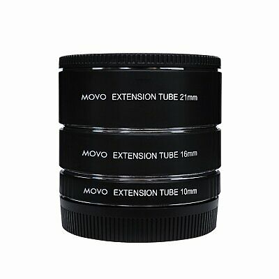 Movo Photo AF Macro Extension Tube Set for Nikon