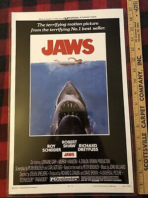 Jaws The Movie Poster Retro 1975 Gord Downie T Shirt