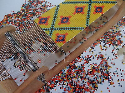 Peakdale Basic Bead Loom Kit Jewelery Design Beads Weaving Patterns