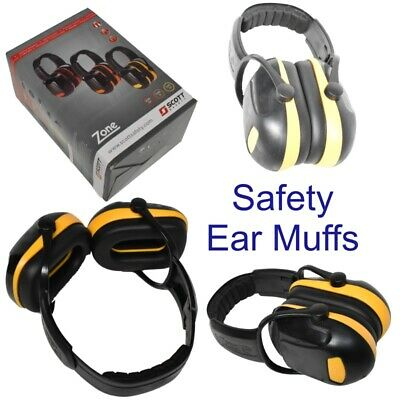 Ear Muffs Noise Defenders Folding Muff Zone 1 Low Noise Scott Safety Z1 IHBE