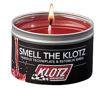 KLOTZ 2-stroke Smell Scented Candle KL755 - TechnoPlate & Estorlin - Hand Made!