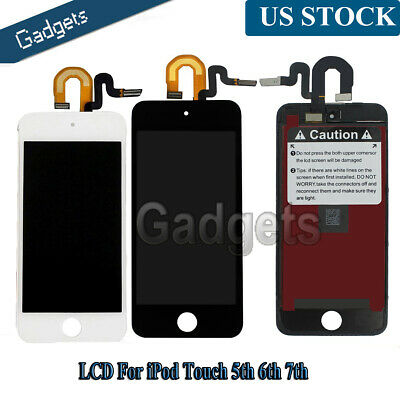 For iPod Touch 7th 5th 6th Gen LCD Display Digitizer Touch Screen Assembly