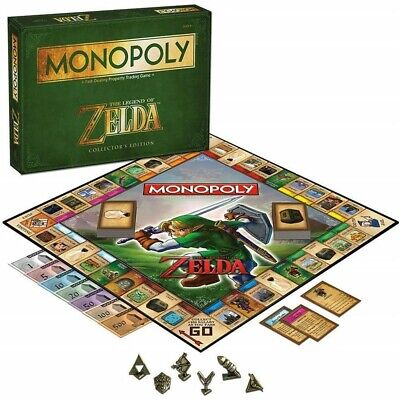 For The Legend of Zelda MONOPOLY Party Cool  Board Card Game Xmas Perfect Gifts