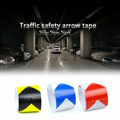5CM Width PVC Reflective Safety Warning Tape Road Traffic Reflective Arrow an