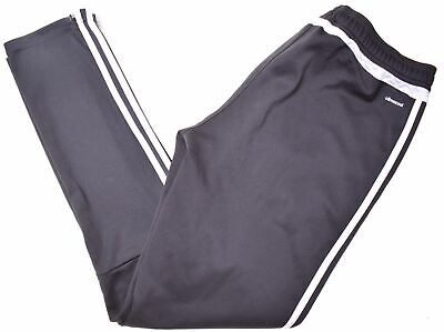 ADIDAS Boys Tracksuit Trousers 15-16 Years W28 L32 Black Polyester  HT04