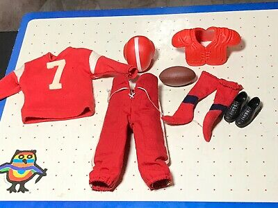 Vintage 799 Ken Doll Outfit Clothes Touchdown Football Pants K80