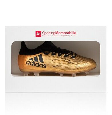Dele Alli Signed Adidas X Boot - Gold - Gift Box Autograph Cleat