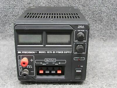 BK Precision Model 1670 DC Power Supply *Tested & Working*