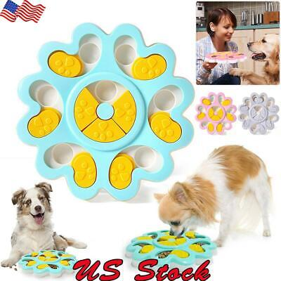 US Dog Food Toy Pet Smart Puzzle Interactive Toys Puppy Training Games Feeder