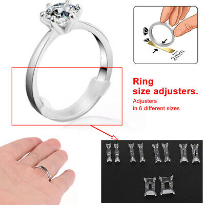 Invisible Ring Adjuster Size Reducer Jewelry Sizer Guard Clear Resizer