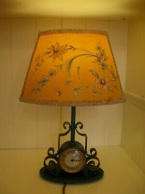 Vintage Smiths Sectric Clock Table Lamp