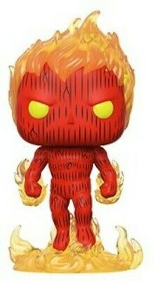 Fantastic Four - Human Torch - Funko Pop! Marvel: (2019, Toy NUEVO)