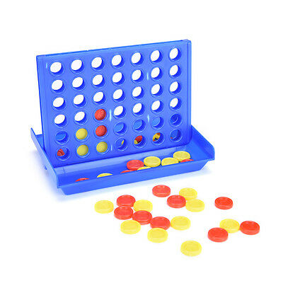 Connect Four In A Row 4 In A Line Board Game Kids Children Fun Educational T_Y