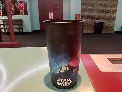Star Wars: The Rise Of Skywalker 44oz Plastic Movie Theater Cup Brand New!