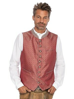 Stockerpoint Traditional Costume Waistcoat Wallace Red