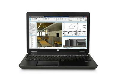 HP ZBOOK 15 G2 i7-4810MQ 16GB 512SSD NVIDIA K1100M 1080P Win 10 LAptop Gaming PC
