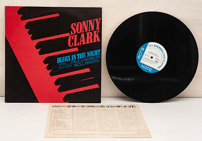 SONNY CLARK Blues In The Night Blue Note GXF-3051 Stereo Japan Vinyl LP