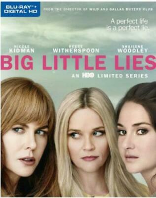 BIG LITTLE LIES: SEASON 1 (Region A BluRay,US Import,sealed.)