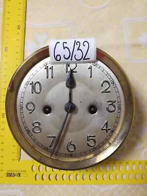 Vintage Clock MOVEMENT with Clock Dial  Antique