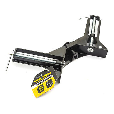 Tolsen Corner Mitre Clamp 75mm 3 Inch Woodwork Right Angle Holder Frame Vice