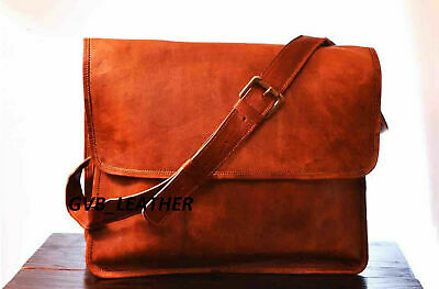 Bag  Export Quality Genuine Leather Messenger Vintage Satchel Laptop Briefcase