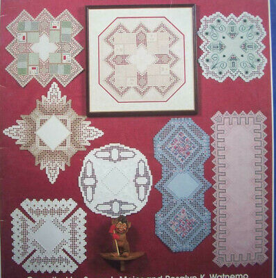 A Little Bit of Norway hardanger embroidery pattern doily doilies