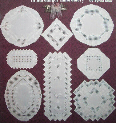 Classic Creation IV hardanger embroidery pattern doily doilies