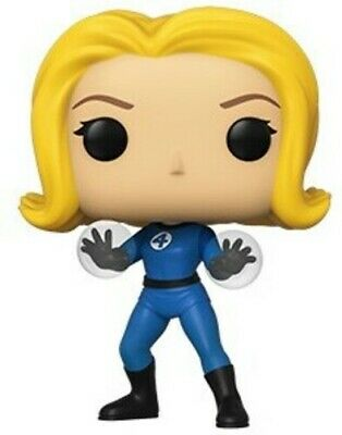 Fantastic Four - Invisible Girl - Funko Pop! Marvel: (2019, Toy NUEVO)