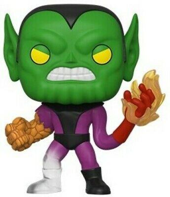 Fantastic Four - Super-Skrull - Funko Pop! Marvel: (2019, Toy NUEVO)