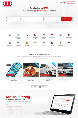 Classified Ads Listing Portal WEBSITE BUSINESS FOR SALE