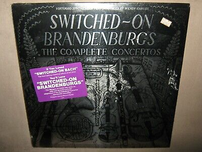 Wendy Carlos SWITCHED ON BRANDENBURGS Bach SEALED Gatefold NEW Double Vinyl 2 LP