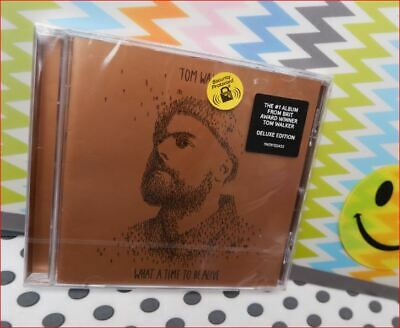 """TOM WALKER New DELUXE Fast Freepost""""TIME TO BE ALIVE"""" CD You & I Better Half Me"""