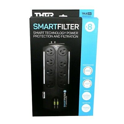 Thor B8F Smart Filter 8 Power Board Surge Protection and Filtration Board Plug