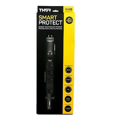 Thor E1/45U Smart Protect 2 USB and 4 Surge Protector and Filtration Power Board